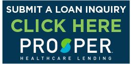 Prosper Healthcare, one of the accepted financing options for emergency dentistry at Your Time Dental Urgent Care.